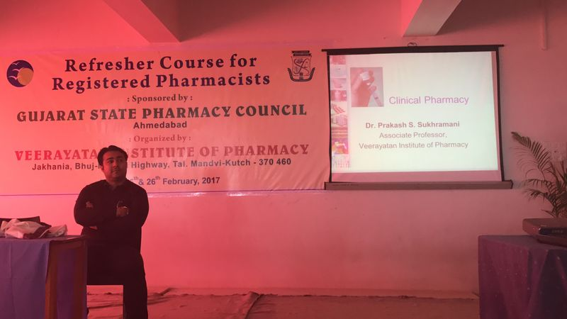 Lecture Session-Pharmacist Refresher Course 2017
